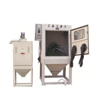 JCK-1010D正面滾筒(tong)式噴砂機(ji)